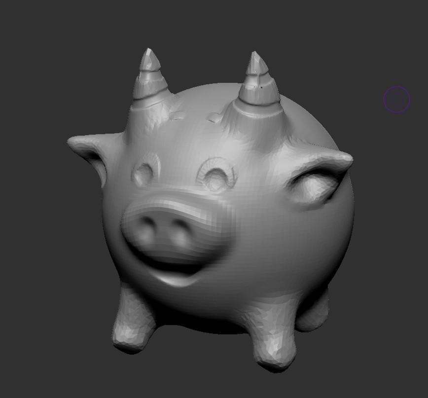 ZBrushCoreMini立體雕刻造型師入門班  (網上課程)